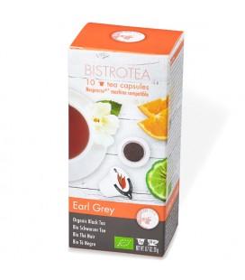 Capsules de thé noir Earl Grey Bio