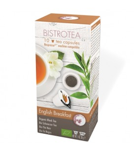 Capsules de thé noir English Breakfast Bio