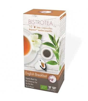 Capsules de thé noir English Breakfast Bio