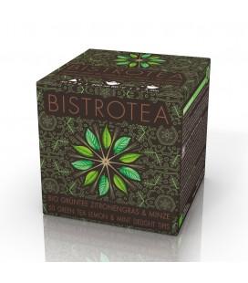 Thé vert menthe Citronnelle Bio ( 50 sachets tipis)